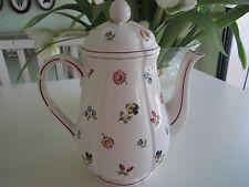 Villeroy & Boch PETIT FLEUR Floral Coffee Pot  + Lid  MINT