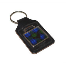 Key Ring Scots Black Watch Tartan Pheasant FOB CHAIN BAG CHARM Present GIFT BOX