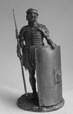 TIN FIGURES LEGIONARY WITH SHIELD AND SPEAR 1ST CENTURY BC 54MM 1/32 R13