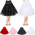 Retro Underskirt Swing Vintage Petticoat Rockabilly Fancy Net Skirt Tutu Dress
