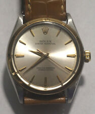 Rolex Vintage Men's Oyster Perpetual 14kt & Stainless Steel Watch 1003