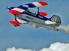 Giant 1/4 Scale Steen Skybolt Aerobatic Biplane Plans and Templates