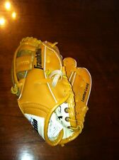 """Franklin 4609 Baseball T-ball Glove 9 1/2"""" 9.5"""" mitt leather laced  left hand"""