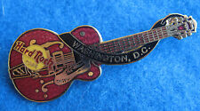 WASHINGTON DC CHET ATKINS COCHRAN HOLLOW BODY GRETSCH GUITAR Hard Rock Cafe PIN