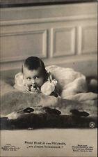 Adel Monarchie ~1910/15 Prinz Wilhelm von Preussen als Kind Baby Hohenzoller