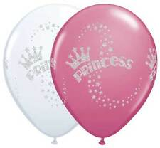 "10 pc 11"" Glitter Princess Latex Balloon Party Decoration Happy Birthday Girl"