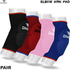 Elbow Pads Protector Brace Support Guards Arm Guard Boxing MMA Gym Padded