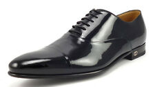 Gucci New Mens Shoes Size 7.5, 8.5 US Patent Leather Oxfords 322477 Black