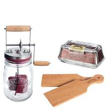 Genuine Kilner embossed Butter Churning Set  Make Your Own Home Made Butter Kit