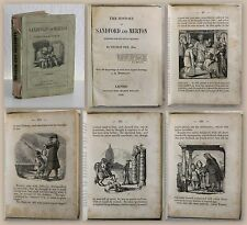 Day The History of Sandford and Merton 1858 with 100 Engravings by Ehrhardt xz