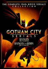 Gotham City Serials: Batman (1943)/Batman and Robin (1949) (DVD, 2014, 2-Disc...