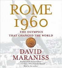ROME 1960. The Olympics That Changed The World.    5 CD AUDIO BOOK.   ** SEALED.