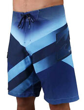"BRAND NEW + TAG BILLABONG MENS 34"" ""SLICED SUPREME"" BOARDSHORTS SHORTS SURF BLUE"