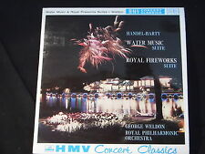 G.F. HANDEL-Water Music & Royal Fireworks Suite/Weldon