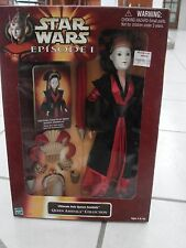 Star Wars Queen Amidala Ultimate Hair Doll 11in 1998 Lucasfilm
