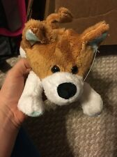 Nwt Plush Pembroke Welsh Corgi Puppy! Red White 11 Inches