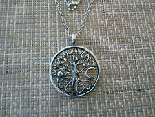 Tree of Life 1 Family Tree NECKLACE with MEDALLION PENDANT All New.