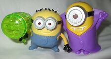 McDonalds Despicable Me 2 Minions Whizzer & Vampire toys 2013 lot of 2