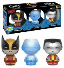 NIB DORBZ X-Men 3-Pack SDCC Exclusive Iceman Wolverine Colossus - Fast Shipping