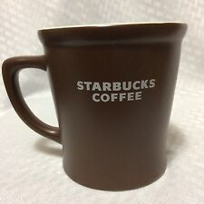 Starbucks Jumbo Coffee Mug Cup 16 oz 2008 Brown Abbey Advertising