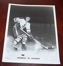 Cleveland Barons Maurice St.Jacques 1960's  from the Woody Ryan Collection