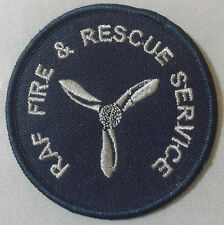 Royal Air Force Fire & Rescue Service Ranks Patch no-474