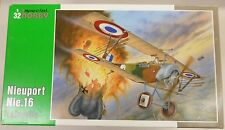 Special Hobby 1/32 Nieuport Nie.16 Lafayette Biplane 32030