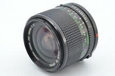Canon New FD NFD 24mm F/2 MF Lens for FD Mount MINT- condition from japan 80091