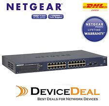NETGEAR GS724Tv4 Prosafe 24 Port Gigabit Smart Switch GS724Tv4