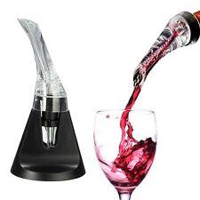 Mini Red Wine Travel Aerator Essential Set Quick Aerating Pourer Decanter Hol CA