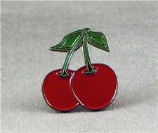 Metal Enamel Pin Badge Brooch Cherries Fruit Machine Gamble