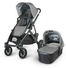 UPPAbaby VISTA Pascal Gray Lightweight, Umbrella Single Seat Stroller & Bassinet