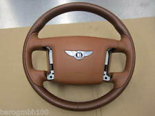 Bentley Continental GT 2007 volant avec airbag volant direction cuir saddle 3w0419650