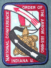 1990 NOAC Event Pocket Patch MINT! OA National Order of the Arrow Conference WWW