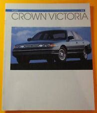 1993 FORD CROWN VICTORIA SHOWROOM SALES BROCHURE...16- PAGES