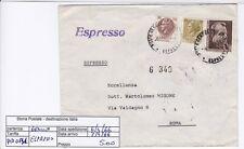 STORIA POSTALE - REPUBBLICA MULTIPLI - PIIM0131 -  ESPRESSO - 5.00€