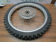 CR 125 HONDA 2001 CR 125R 2001 FRONT WHEEL