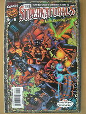 MARVEL COMIC THE SUPERNATURALS  No 4 1998 WITH FREE HALLOWEEN MASK