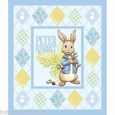Peter Rabbit Cotton Fabric Panel (Matching Toss Fabric in Store)