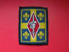 N°104 insigne militaire armée écusson patch badge régiment french army