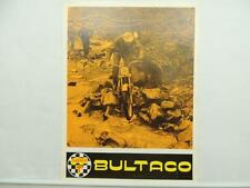 Vintage 1968 Sherpa T Bultaco Brochure And Specifications Six Day Trials L6441