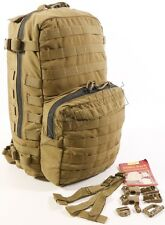 NEW USMC FILBE Assault Pack Coyote Brown Backpack Issued MOLLE 3 Day Patrol Bag