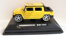 ROAD SIGNATURE (YATMING) HUMMER H2 SUT SCALE 1:72 BOXED