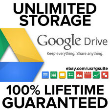 200 TB Unlimited Google Drive Storage Account - Lifetime Access 100% Guaranteed