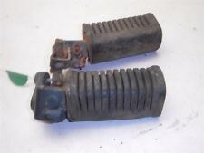 1982 Kawasaki KZ305 LTD Belt Drive used Pair Left Right Foot Pegs Rests