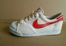 nike bruin 1980's girl women size 1 canvas shoes back to the future