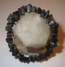 POWERFUL RARE HEALERS GOLD PYRITE MAGNETITE NATURAL CRYSTAL BRACELET