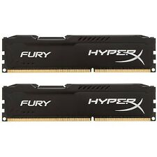 Kingston HyperX FURY 16GB Kit (2x8GB) 1866MHz DDR3 CL10 DIMM - Black (HX318C1...