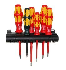 05347777001 Wera Tools Insulated Screwdriver PH/SL/SQ 6PC Set 100 Series 347777