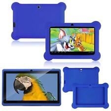 "NEW 7"" INCH BLUE KIDS ANDROID TABLET PC QUAD 4.4 WIFI UK KIDS CHILDREN CHILD"